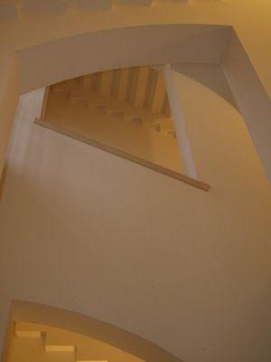 Beige Treppe