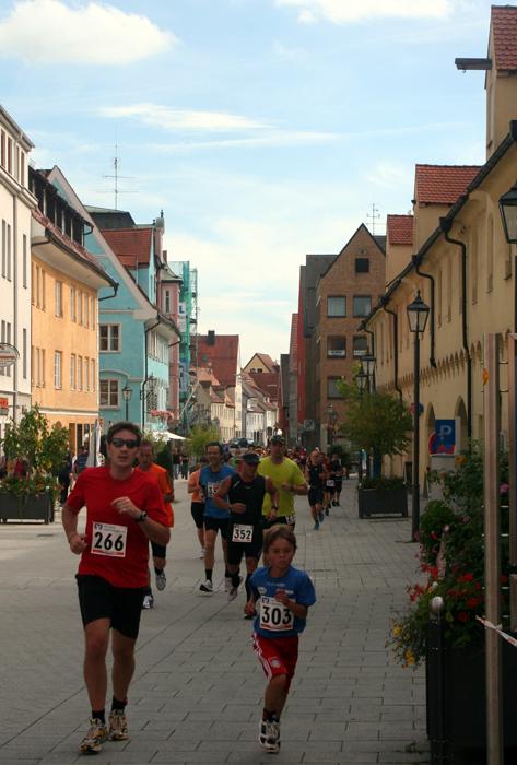 Beim 13. Memminger Altstadtlauf