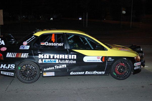 beim 2. der Sachsen Rallye glühen die Bremsen