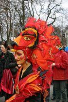 beim 26. Bremer Sambakarneval