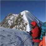 Beim Anstieg zur Wildspitze......