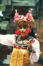Beim Barongtanz 11/99...auf Bali