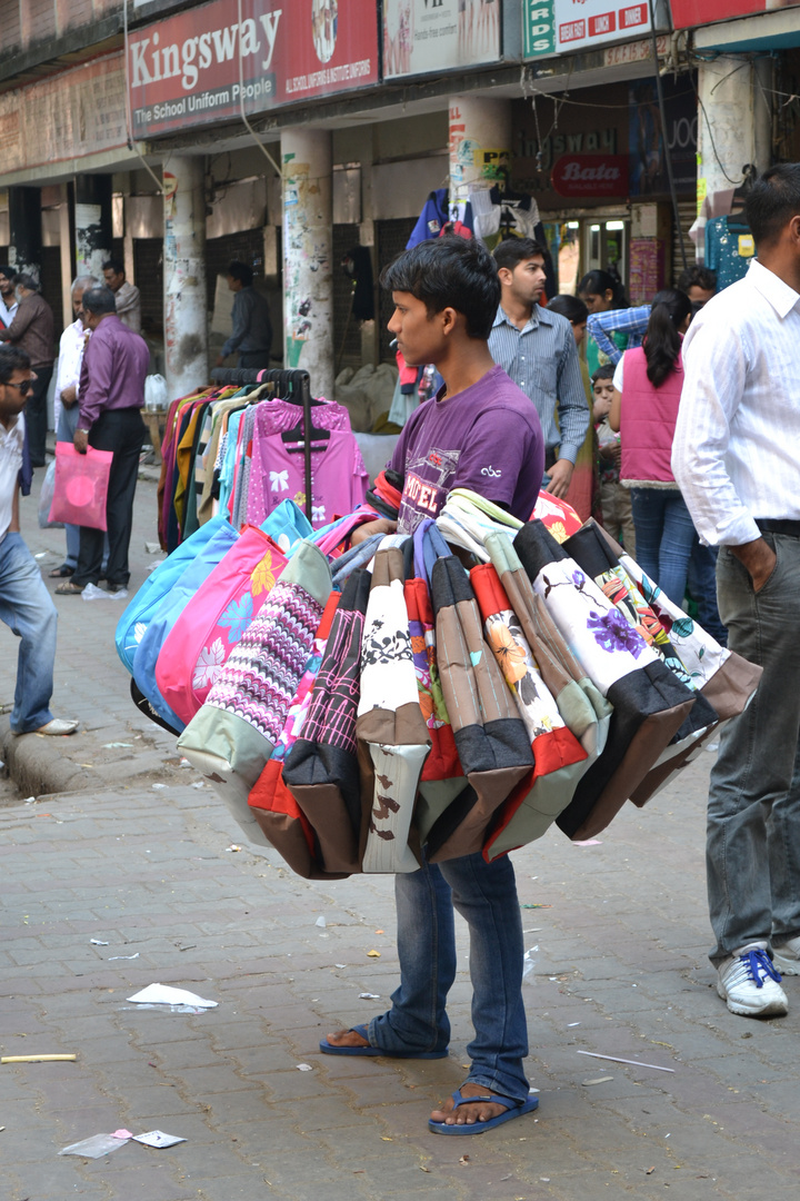beim Einkauf in Chandigarh