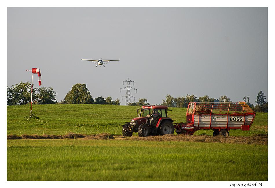 Beim fliegenden Bauer