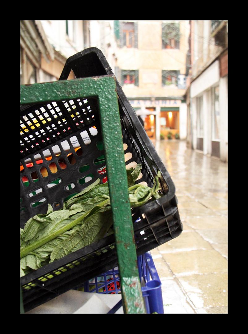 Beim Gemüsehändler