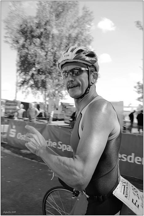 """Beim """"KnappenMan-Triathlon"""" ..."""