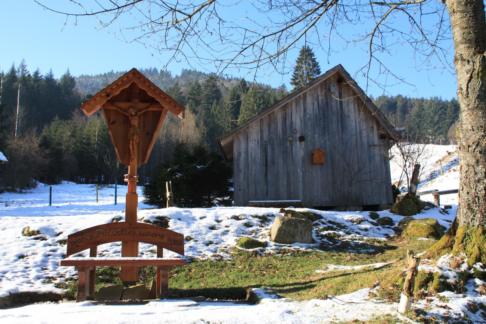 beim Mewi Brunnen - Bermersbach