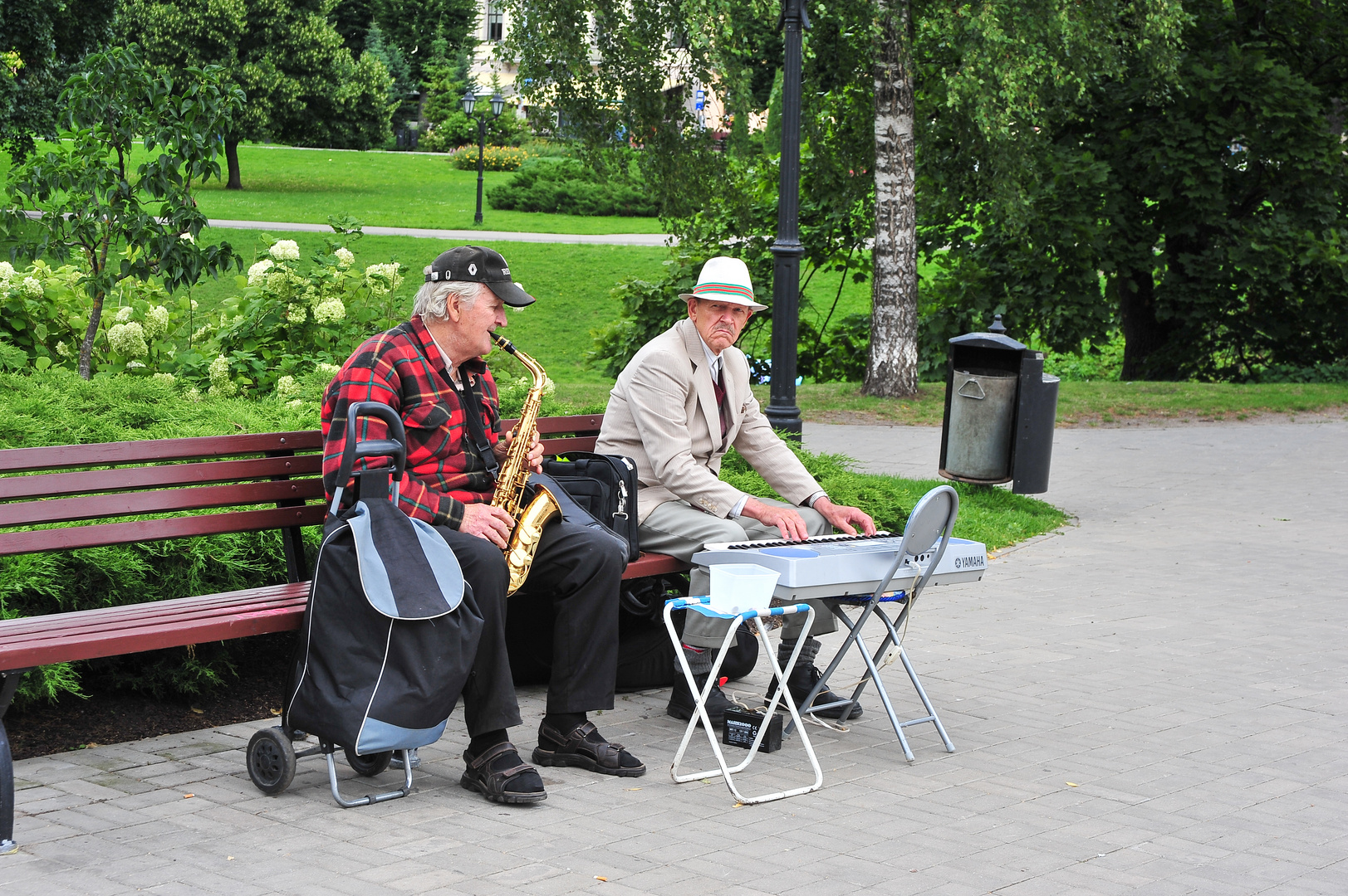 Beim Spaziergang durch Riga angetroffen