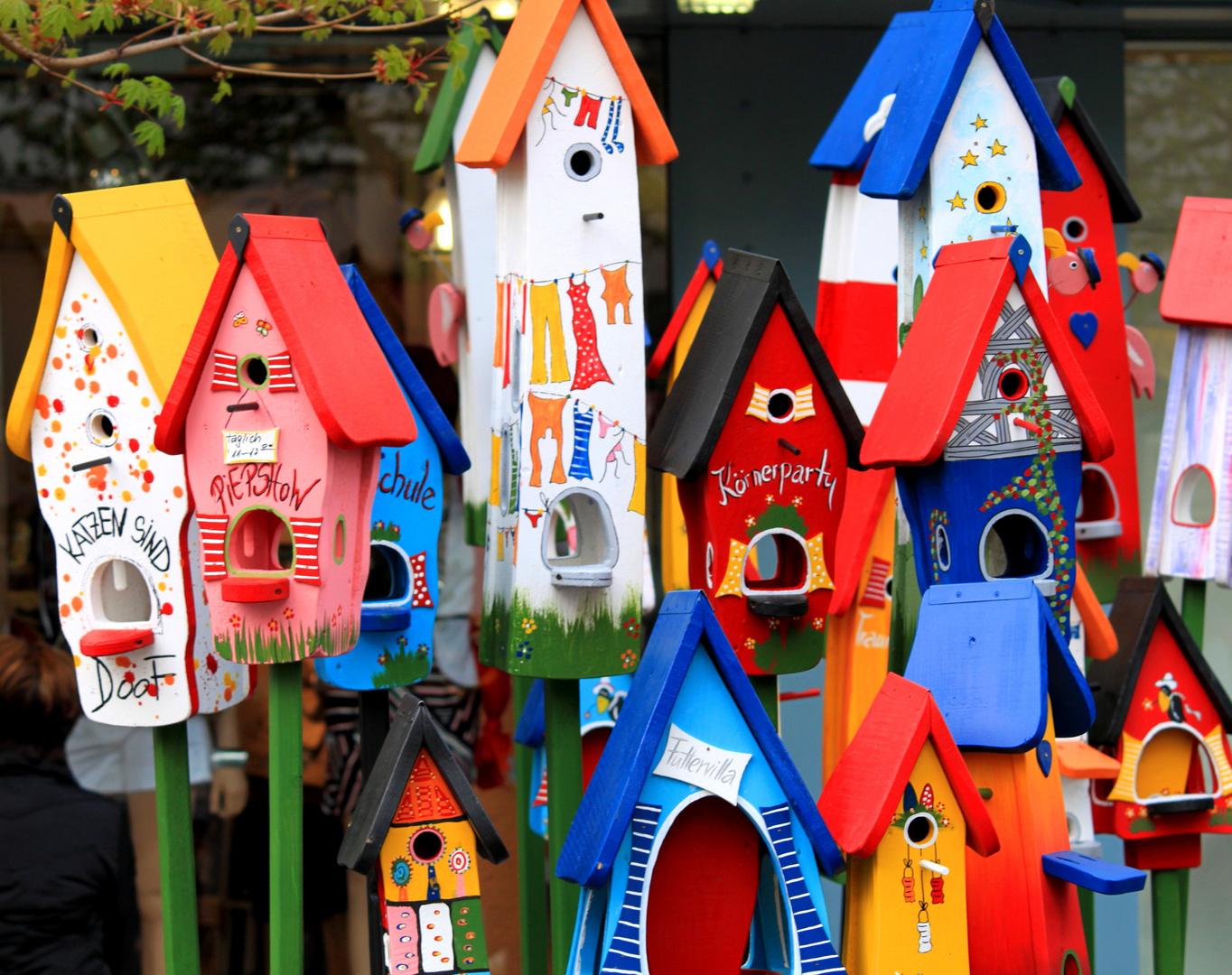 Beim Vogel-Häusermakler
