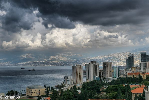 Beirut My City as I see it from My window