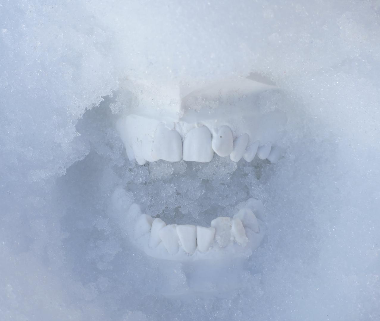beissende Kälte
