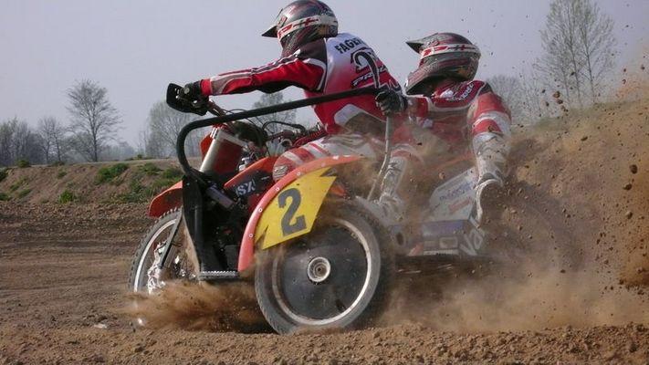 Beiwagen Motocross