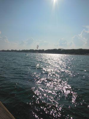 bel sole sopra il mare