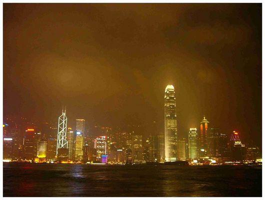 """""""Beleuchtetes"""" Hongkong"""