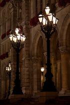 Beleuchtung rund um den Circus Roncalli in Wien