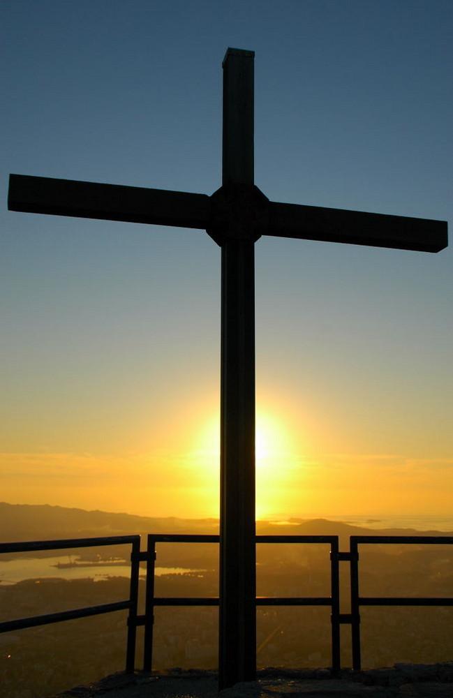 Belevedere à la croix du Mont Faron