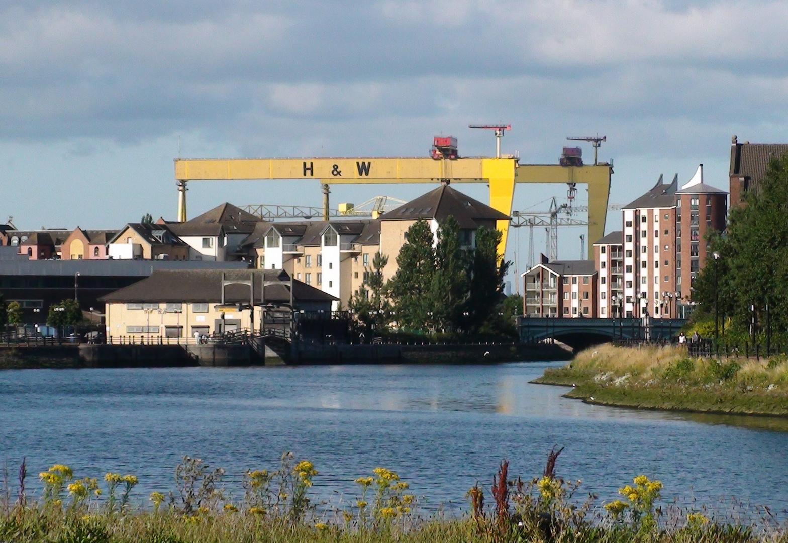 Belfast Lagan view