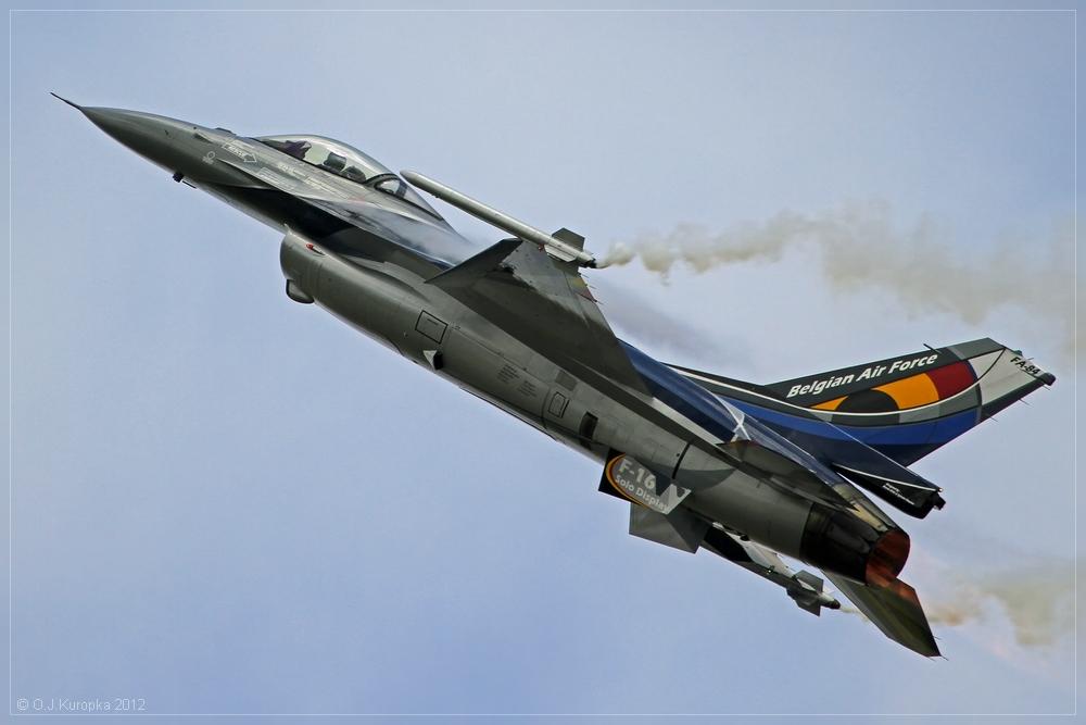 belgian f16-demoteam