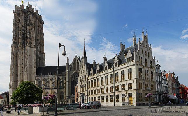 Belgien 2012 - Sint-Rombouts-Kirche Mechelen