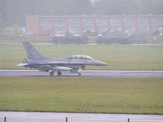 Belgische F-16 in Neubrandenburg
