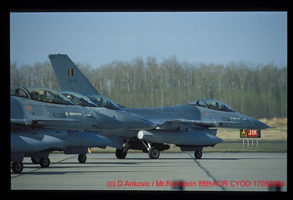 Belgische Luftwaffe F-16A Fighting Falcon Last Chance
