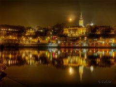 Belgrad bei Nacht 1