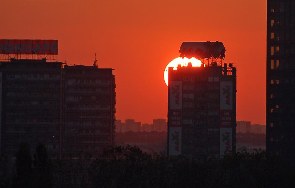 Belgrader Sonne
