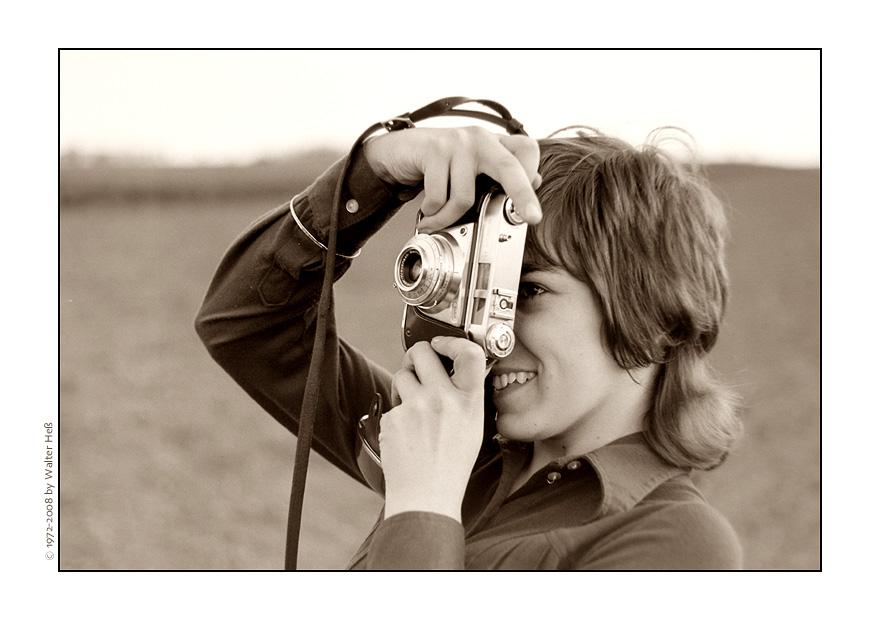 Belinda ... toma las fotografías