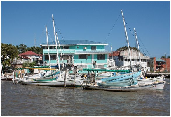Belize City / Yachthafen