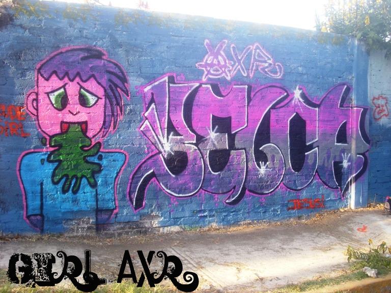 BELKA AXR!! GRAFFITI MEXICO