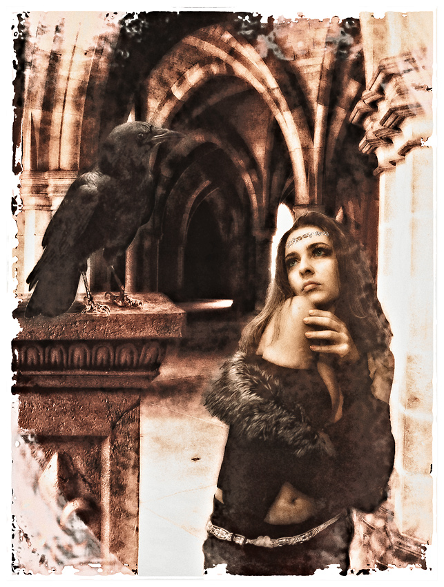 Bella and the Raven...