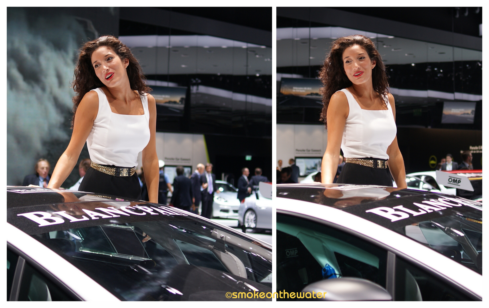 bella macchina, bella donna