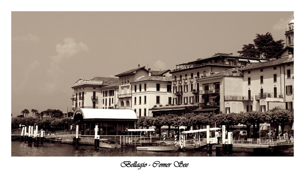 Bellagio - Comer See
