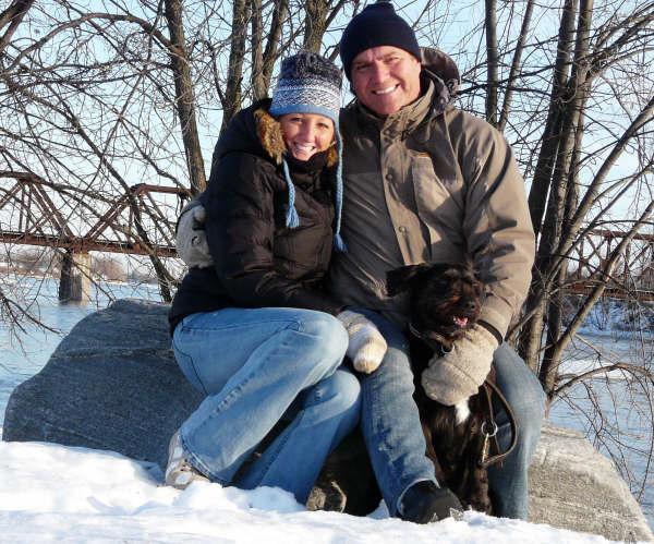 Belle journée hivernale au Québec