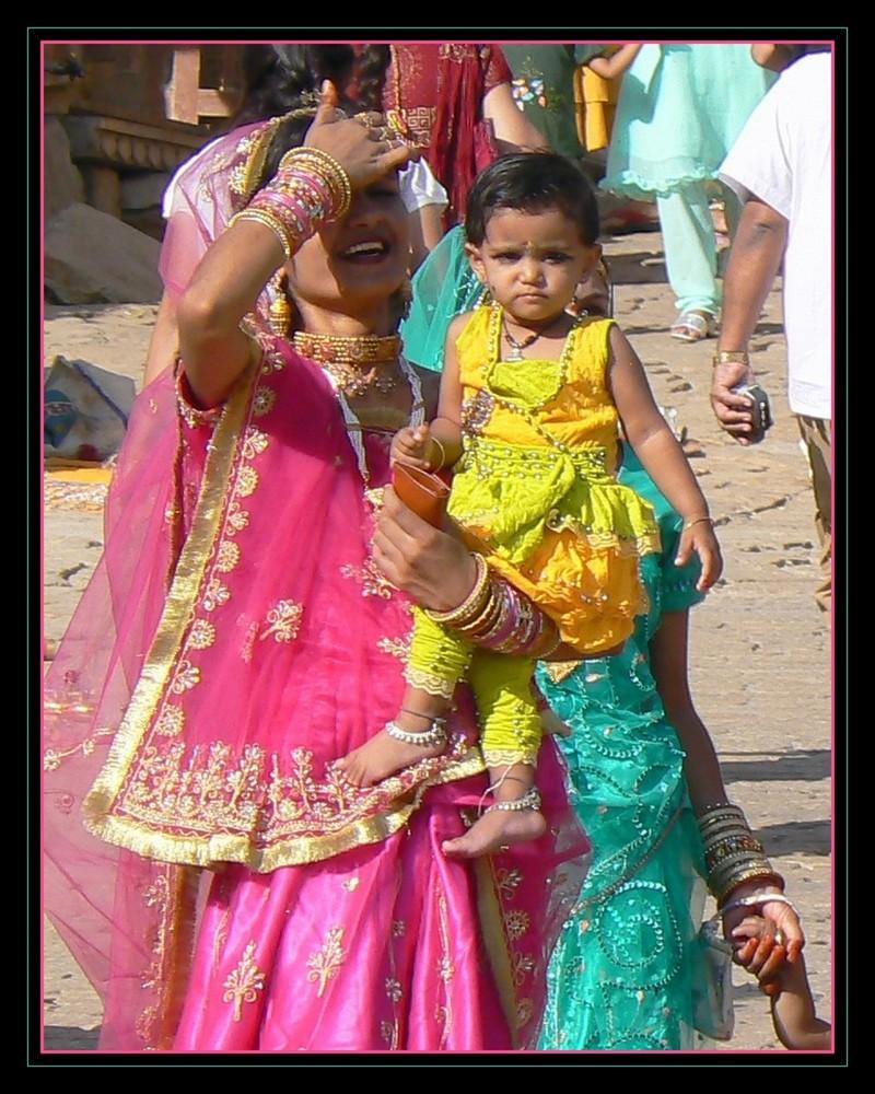 Belle pour Diwali