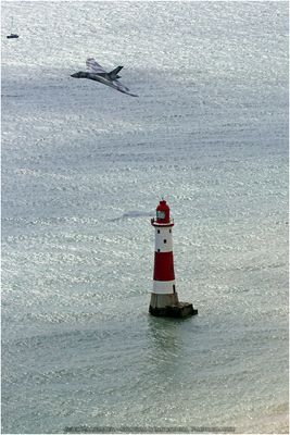 Belle Tout Lighthouse and Vulcan