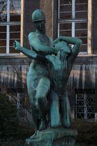 Bellona-Skulptur
