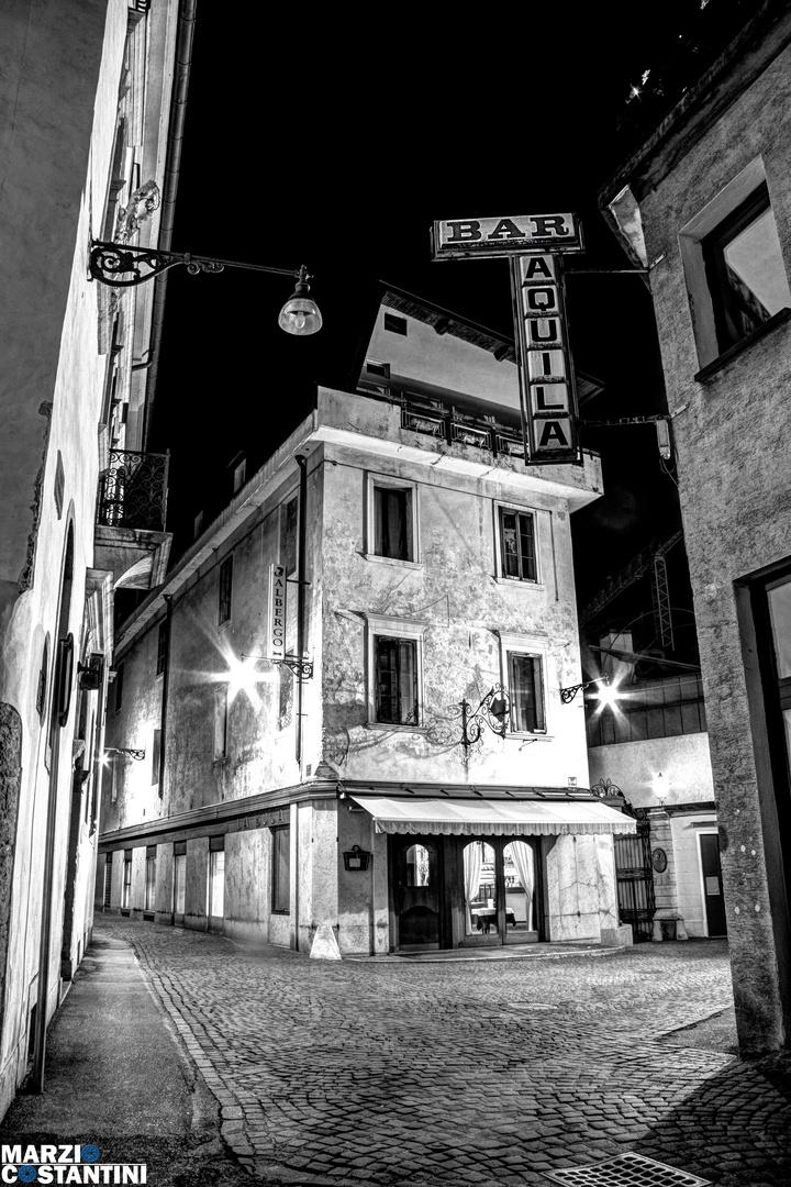_Belluno bei Nacht_