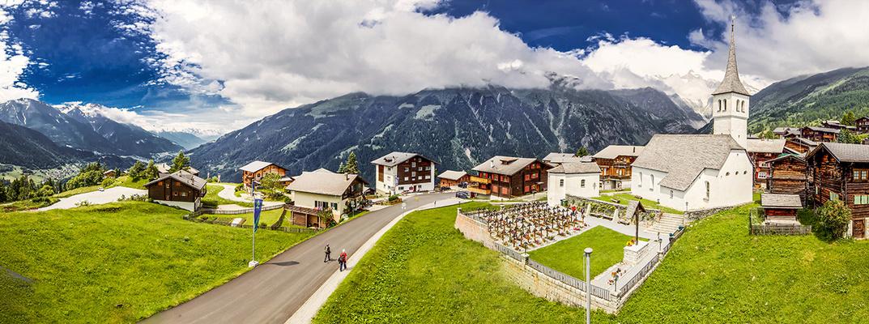 Bellwald, Schweiz