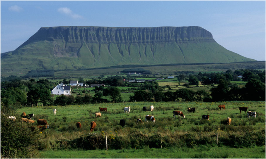 Benbulben im County Sligo
