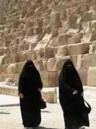 Beneath the Giza Pyramid, July 2006