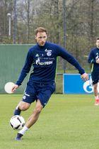 Benedikt Höwedes beim Training