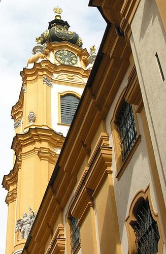Benediktiner Kloster Stift Melk - Österreich