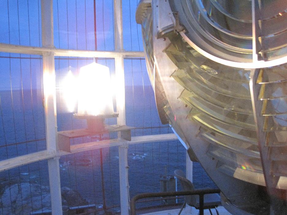 Bengtskär Lighthouse - das Licht des Leuchtturms