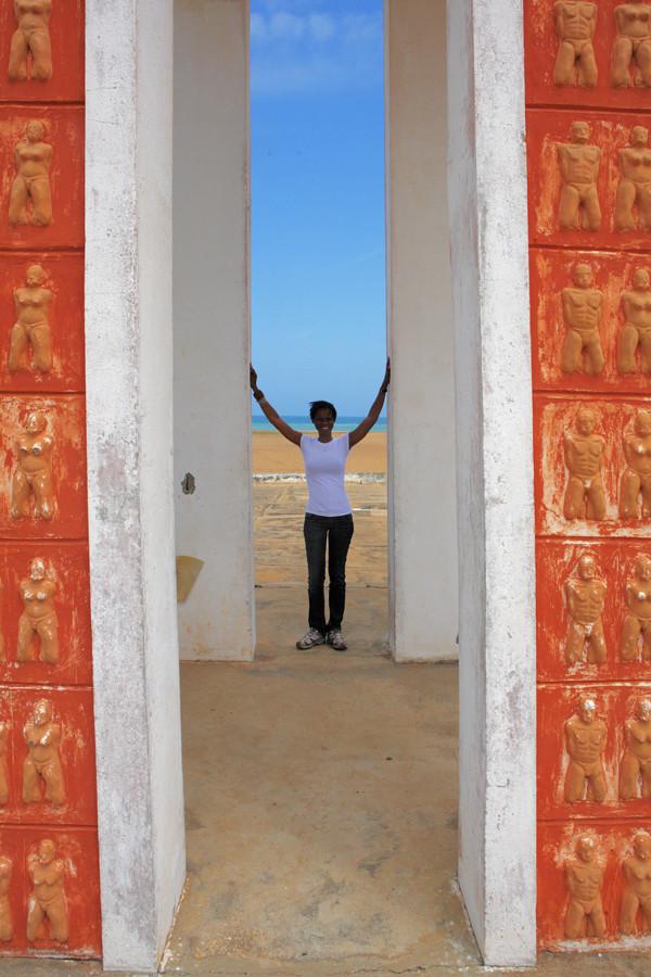 Bénin, Ouidah, Porte du non retour