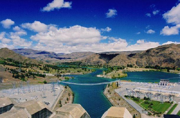 Benmore Damm (Stausee Südinsel NZ)