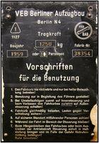 """Benotzong nor in Begleitung des Föhrers gestattet..."""