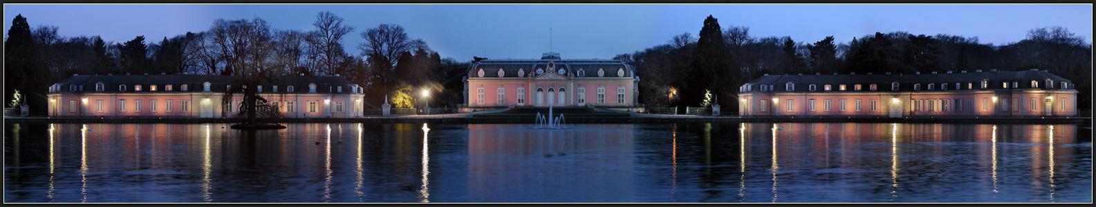 Benrather Schloss in Düsseldorf