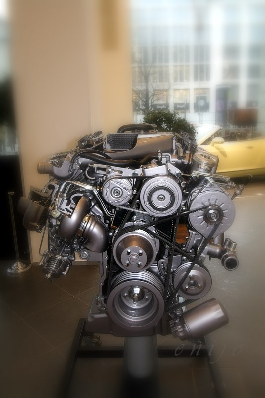 Bentley V8 Motor