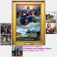 Benvenuto Garafalo · La Madonna con il bambino